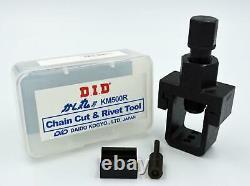 DID KM500R Professional Chain Tool for Kawasaki ZX6R / RR 636/600