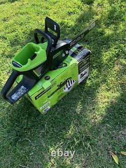 Greenworks pro 60V chainsaw CS60L00 16 Bar Tool Only Chain Saw