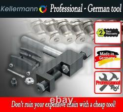 Kellermann KTW 2.5 Professional Chain Breaker / Riveter / Splitter Tool for Harl
