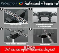Kellermann KTW 2.5 Professional Chain Breaker / Riveter / Splitter Tool for KTM