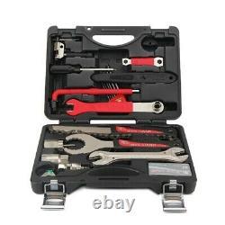 Professional Bicycle Repair Tool Kit Box Chain Tire Remover 32257cm BIKEHAND