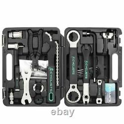 Professional Bicycle Repair Tools 18 In 1 Cycling Multitool Chain Pedal Wrench