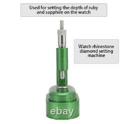 Professional Watch Rhinestones Applicator Setting Machine Watchmaker Repair Tool