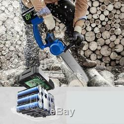 8 Électrique Scie De Chaîne Logging Scie Outils De Jardin Avec Accessoires 220 V Dhl