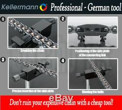 Kellermann Ktw 2,5 Breaker Chaîne Professionnelle / Riveter / Splitter Outil Pour Bmw