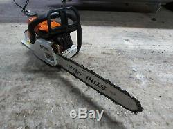 Stihl Ms260 Pro Tronconneuse Sthil Petrol Chain saw Outil Gratuit Post Bon Etat