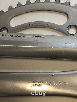 Suntour Pro Superb Pédaliers Piste Fixe Outils Chainring Engrenage Mixte Lot +