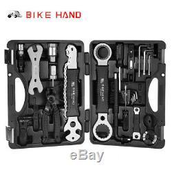 Vélo Vtt Vélo 18pcs Professionnel Chaîne Maintenance Repair Tool Kit Clé